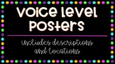 Voice Levels Posters