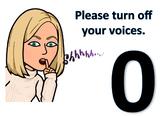 Voice Levels Posters (BITMOJIs)