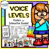 Voice Levels Posters & Interactive Booklet