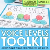 Voice Levels Posters and Lesson Plans | Tools for Calm Cla