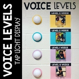 Voice Levels Tap Light Display