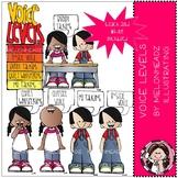 Voice Levels clip art - Mini - Melonheadz clipart
