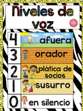 Voice Levels in Spanish