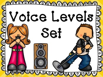 Voice Levels in a Creative Way!--Posters, Bookmarks, Worksheets