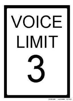 Voice Limit Lesson Plan Bundled with Printables