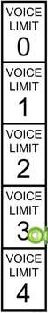Voice Limit Slider Scale (Noise Level Indication System) Expansion