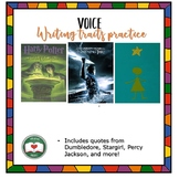 Voice Match: Writing Trait Practice