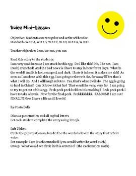 Voice Mini Lesson