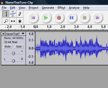 Voice Recording Using Audacity