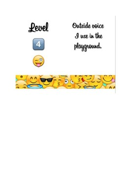 Voice Scale and levels