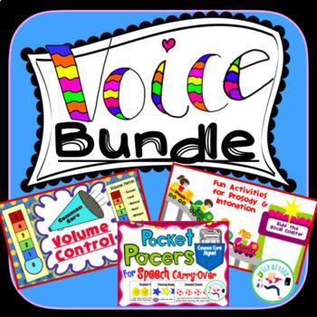 Speech Bundle - Volume, Intonation, and Rate.