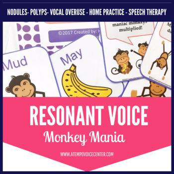 Voice Therapy Monkey Mania!
