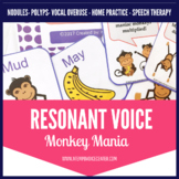 Resonant Voice Therapy Monkey Mania for Speech Therapy