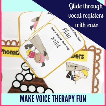 Voice Therapy Straw Phonation Mountain Climbers for Speech Therapy