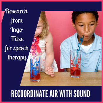 Voice Therapy Winter Straw Phonation