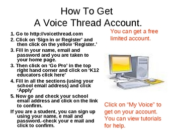 Voice Threads