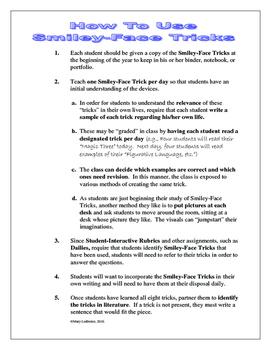 Smiley-Face Tricks Advanced (Voice) For Grades 6-12