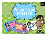 Voice Types Posters