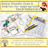 Voice Visuals: Cues and Rubrics for Appropriate Vocal Behaviors