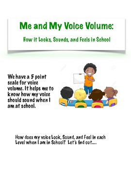 Voice Volume - How It Looks, Sounds, and Feels Activity