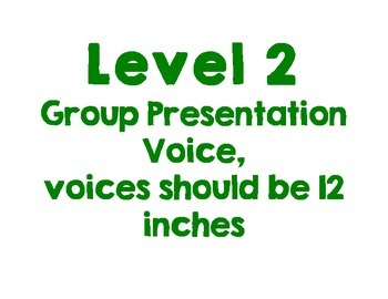 Voice Volume Levels