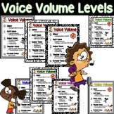 Voice Volume Levels Poster