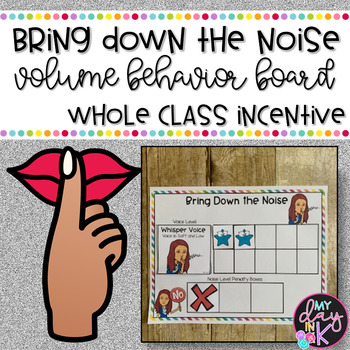 Voice Volume Classroom Management Game
