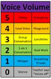 "Voice Volume Meter (11"" x 17"" Version) (Editable)"