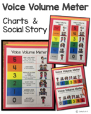 Voice Volume Meter Charts and Social Story