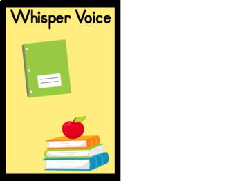Voice Volume Posters