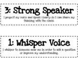 Voice Volume Scale