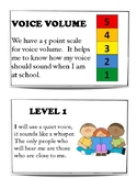 Voice Volume Social Story