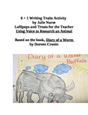 Voice Writing Activity for Diary of a Worm