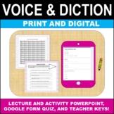Drama Theatre Arts Voice and Diction Unit