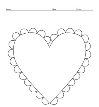 Voice and Valentine Mini Lesson and Writing Activity