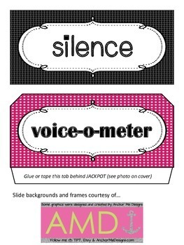 Voice-o-Meter Noise Level Clip Chart