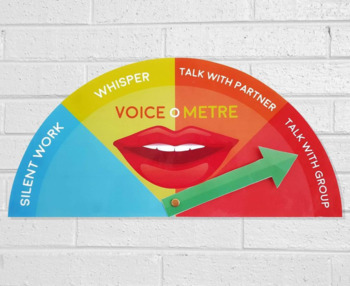 Voice-o-Meter - Voice Level Chart Display
