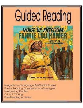 Voice of Freedom - Fannie Lou Hamer - Guided Reading