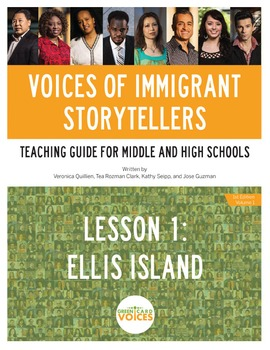 Voices of Immigrant Storytellers-Lesson 1: Ellis Island