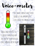 Voice-ometer Thermometer: Visual aid for Classroom Management and RTI