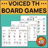 Voiced TH Medial Position Articulation Game