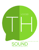 Voiced TH Sound Printable Flashcards
