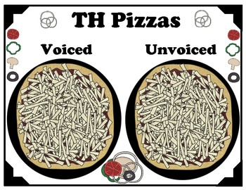 Voiced and Unvoiced TH Pizzas
