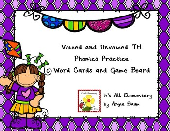 Voiced and Unvoiced TH words - Phonics Practice Game for Upper Elementary