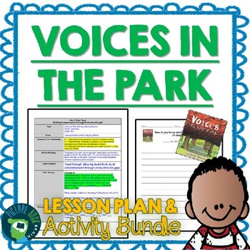 Voices In The Park 4-5 Day Lesson Plan