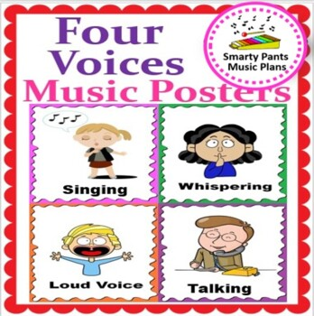 Four Voices Posters {& Two Singing Games}