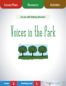 Voices in the Park Lesson Plans & Activities Package, Second Grade (CCSS)
