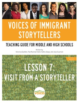 Voices of Immigrant Storytellers-Lesson 7: Visit From A Storyteller