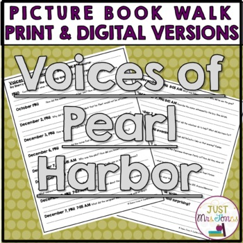 Voices of Pearl Harbor Book Walk