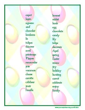 Voici Pâques!